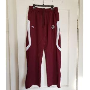 Adidas Texas A&M Sweatpants Size Small